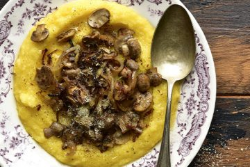 Baked Polenta with Mushroom for A Tasty Everyday Lunch [Recipe] | ultimatemedicinalmushrooms.com