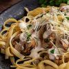 A Creamy Mushroom Fettuccine That Is To Die For [Recipe]   ultimatemedicinalmushrooms.com