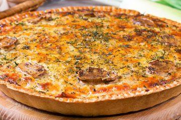 Enjoy This Ham and Cheese Quiche with Mushroom Anytime! [Recipe] | ultimatemedicinalmushrooms.com