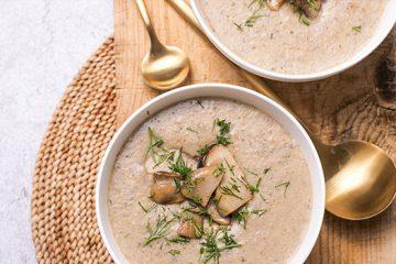 Mushroom Cashew Soup That Never Disappoints [Recipe] | ultimatemedicinalmushrooms.com