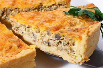 Mushroom Cake With Herbs For A Warm Hearty Meal [Recipe] | ultimatemedicinalmushrooms.com