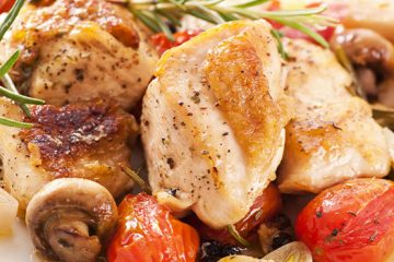 Mushroom Honey Roast Chicken For A Flavorful Meal! [Recipe] | ultimatemedicinalmushrooms.com
