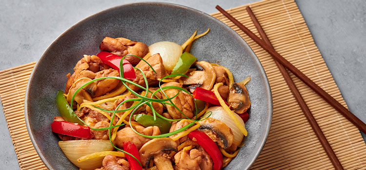 Oriental Chicken And Shiitake