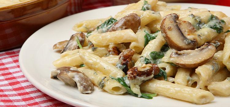 Rigatoni with Mushroom Sauce for All Pasta Lovers! [Recipe] | ultimatemedicinalmushrooms.com