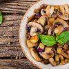 Fresh Side Dish? Try These Balsamic Marinated Mushrooms | ultimatemedicinalmushrooms.com
