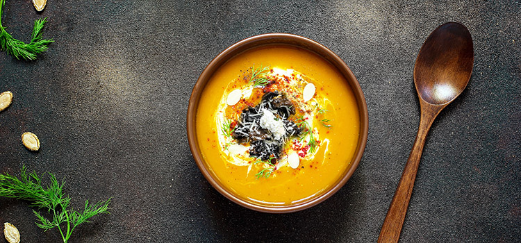 A Tasty Dish For The Soul: Black Trumpet Soup | Ultimatemedicinalmushrooms.com