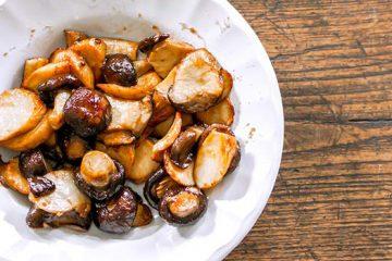 Tasty and Crispy Shiitake Mushroom Slices | ultimatemedicinalmushrooms.com
