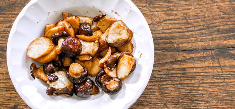 Tasty and Crispy Shiitake Mushroom Slices   ultimatemedicinalmushrooms.com