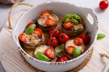 Grilled Portobello Mushrooms_ultimatemedicinalmushrooms.com