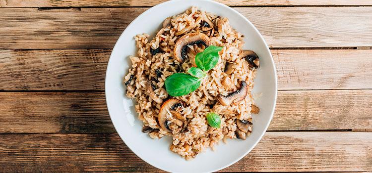 Mushroom Risotto Recipe | UltimateMedicinalMushrooms.com