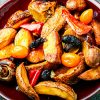 Looking For New Flavors? Try This Shiitake and Potato Stir Fry | ultimatemedicinalmushrooms.com