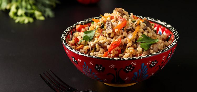 Try This Satisfying Vegetarian Mushroom Couscous   Ultimatemedicinalmushrooms.com