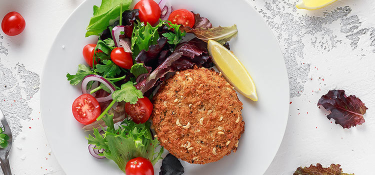 Baked Fish Cakes with Lion's Mane Mushroom | ultimatemedicinalmushrooms.com