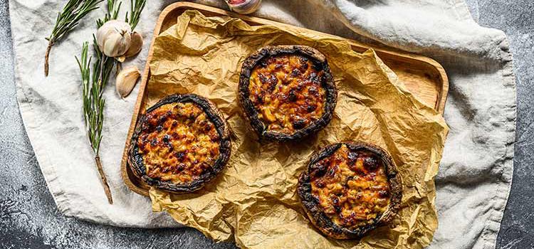 Deliciously Baked Portobello Mushrooms with Fresh Spices | ultimatemedicinalmushrooms.com
