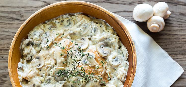 Chicken Fillet in Mushroom Sauce recipe | ultimatemedicinalmushrooms.com