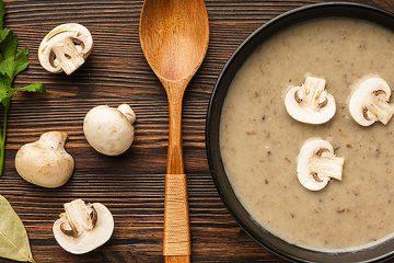 Fresh Mushroom Soup | ultimatemedicinalmushrooms.com