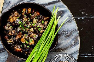 Deliciously Pan-Fried Lion's Mane Mushrooms | ultimatemedicinalmushrooms.com