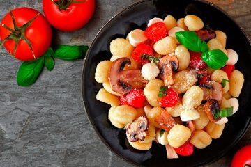 Gnocchi with mushrooms recipe   Ultimatemedicinalmushrooms.com