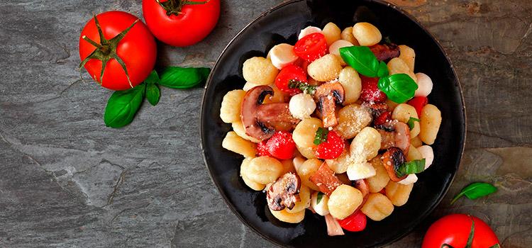 Gnocchi with mushrooms recipe | Ultimatemedicinalmushrooms.com