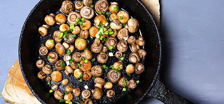 Need a tasteful snack? Try this Herbed Mushroom | ultimatemedicinalmushrooms.com