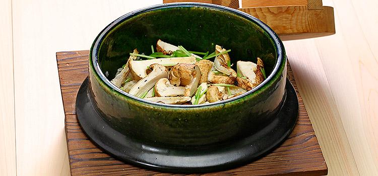 It's Time to Step It Up! Try This Matsutake Mushroom Rice | ultimatemedicinalmushrooms.com