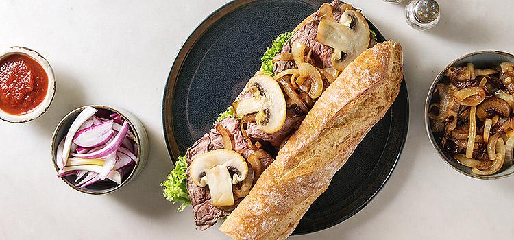 For When You Need a Quick Lunch: Cheesy Mushroom Sandwich | ultimatemedicinalmushrooms.com