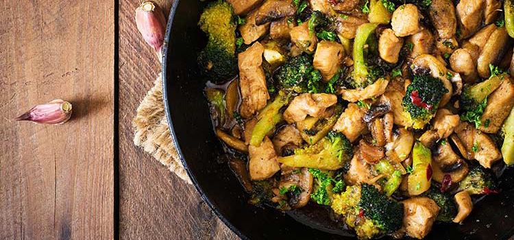 Stir Fry Portobello Mushrooms and Vegetables | ultimatemedicinalmushrooms.com