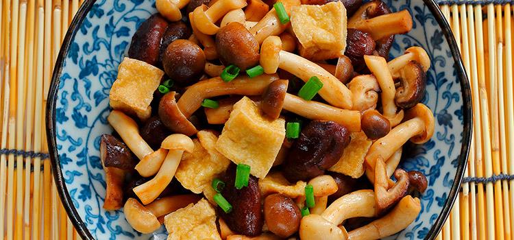 Tofu and Mushroom Stir-fry Recipe | Ultimatemedicinalmushrooms.com