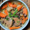 This Wild Rice Mushroom Soup Goes Well with Any Meal! [Recipe] | ultimatemedicinalmushrooms.com