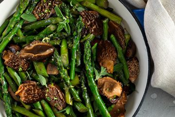 This Asparagus with Morels Dish Is All You Need Right Now [Recipe]   ultimatemedicinalmushrooms.com
