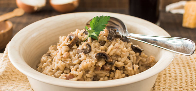 Hungry But Tired? Try This Easy Baked Mushroom Rice [Recipe]   ultimatemedicinalmushrooms.com