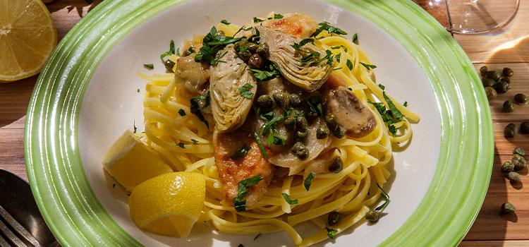 Feeling Italian Tonight? Try This Chicken Piccata with Mushroom [Recipe] | ultimatemedicinalmushrooms.com