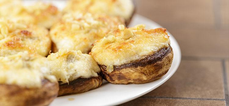 Crab Stuffed Portobello Mushroom Recipe