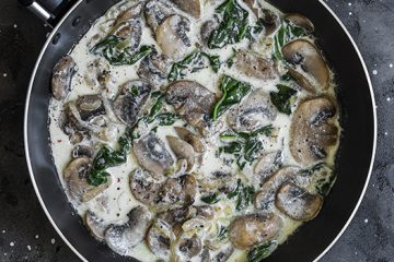 Looking For A Side Dish? Try These Creamy Shiitake Mushrooms [Recipe]   ultimatemedicinalmushrooms.com