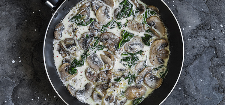 Looking For A Side Dish? Try These Creamy Shiitake Mushrooms [Recipe] | ultimatemedicinalmushrooms.com