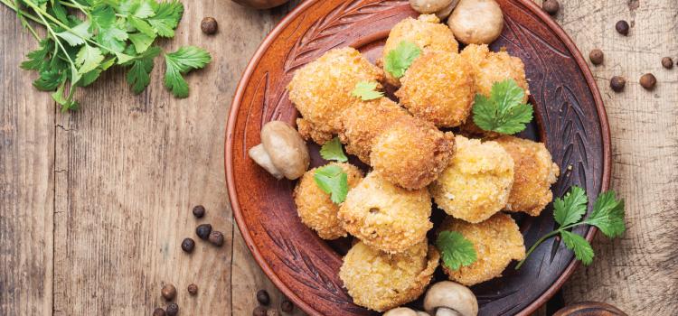 A Crispy Fried Mushroom Recipe? Why not! | ultimatemedicinalmushrooms.com