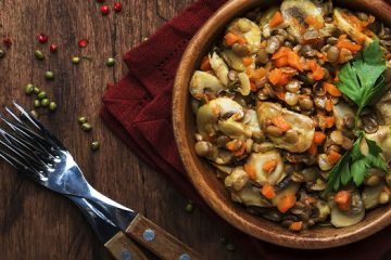 This Mushroom Bourguignon with Lentil is the Vegetarian Meal You Wanted [Recipe] | ultimatemedicinalmushrooms.com