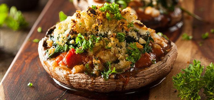A Vegan Stuffed Portobello Mushroom Recipe? Yes, Please! [Recipe] | ultimatemedicinalmushrooms.com